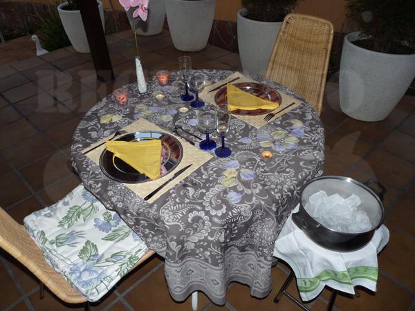 Recetario sano c mo decorar una mesa rom ntica - Cena romantica a casa ...